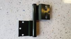Ellbee Static Caravan, Holiday Home,  Door Hinge GREEN LEFT HAND x 3